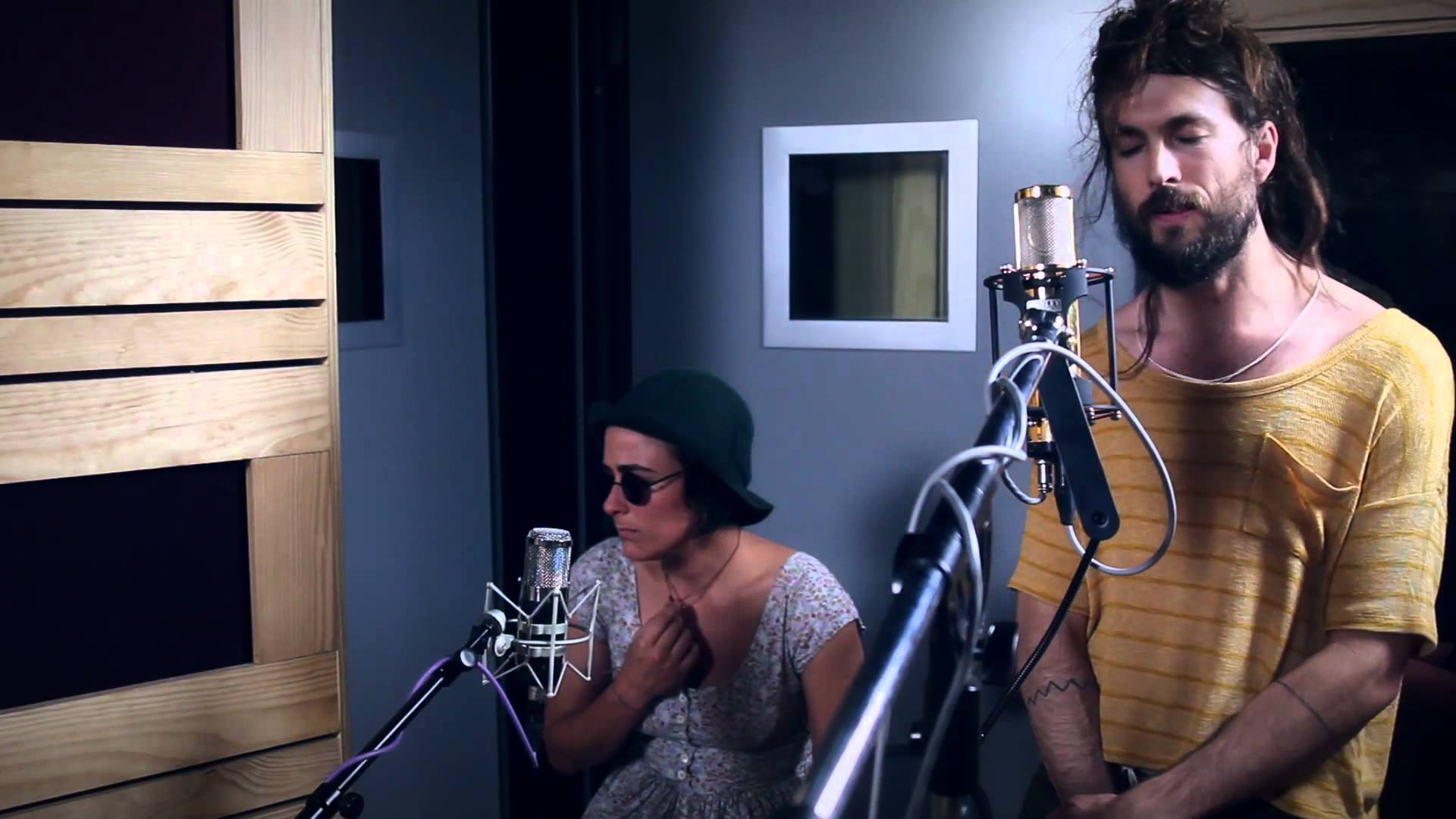 """Edward Sharpe and the Magnetic Zeros """"Man On Fire"""""""